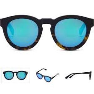 Diff Dime II Tortoise Polarized Sunglasses NIB
